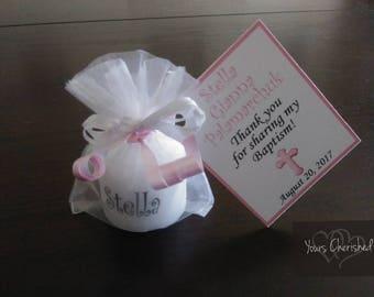 Baptism christening giveaways for girls