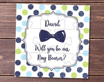 Will You Be my Ring Bearer, Will You Be Our Ring Bearer, Ask Ring bearer, Ring bearer Proposal, jigsaw, Ring bearer Puzzle, Ring bearer Card