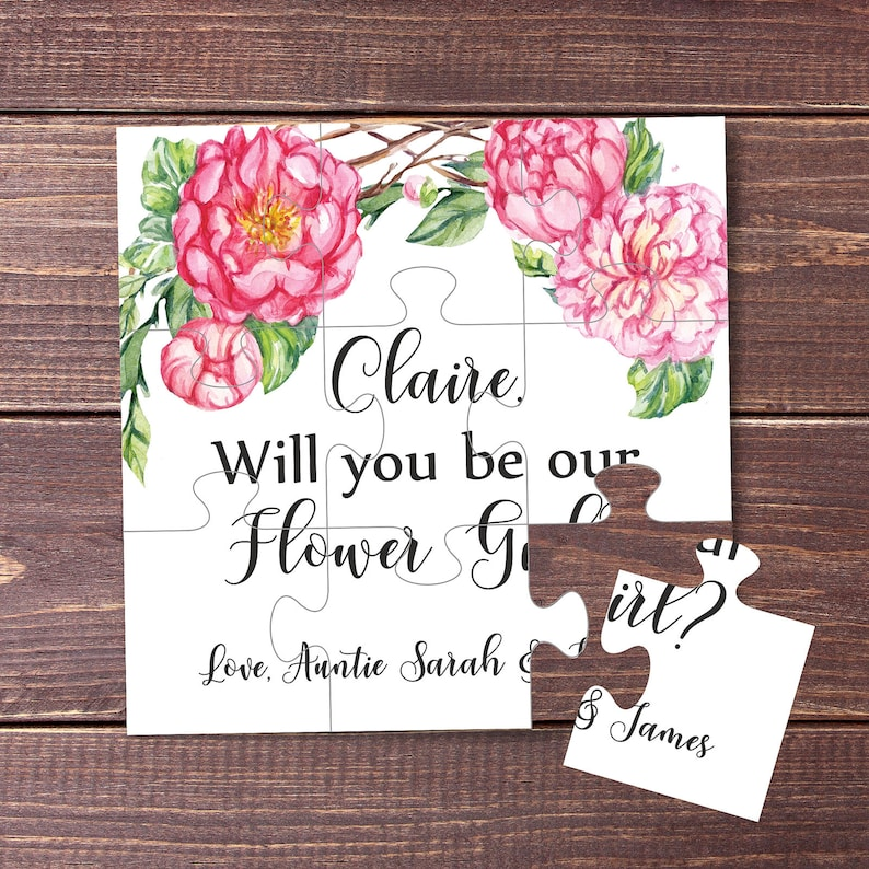 Will You Be Our Flower girl Will You Be My Flower girl image 0