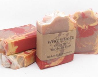 Woodsmoke Goat Milk Homemade Soap ~ Handmade Soaps by Hickory Ridge Soap Co.
