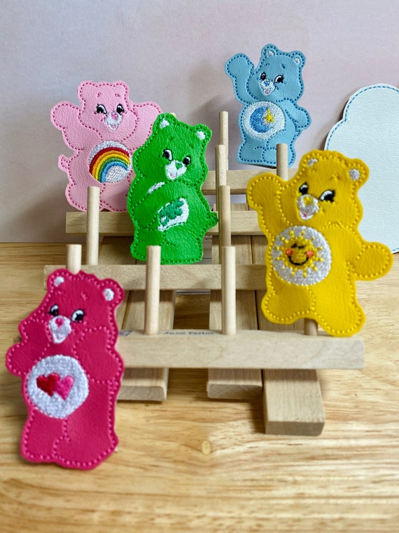 Individually or a Set Carebear Inspired Finger Puppets