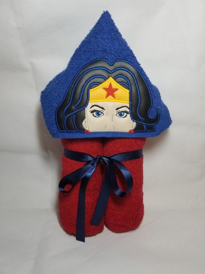 Wonder Woman Hooded Towel