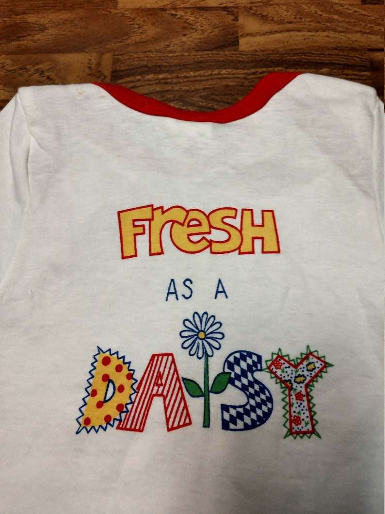 Babyfair FRESH as a DAISY Vintage Baby/'s 100/% Cotton Shirt for Baby Size 18 Months