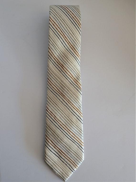 Vintage Jim Thompson Thai Silk Necktie - Skillfull