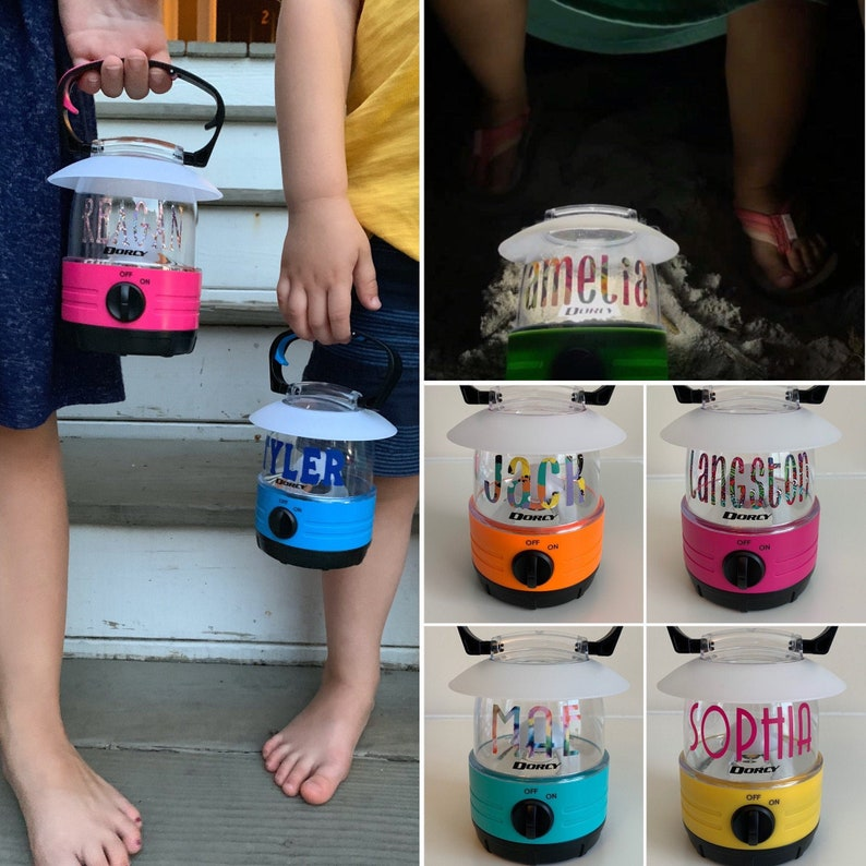Personalized Lanterns for Kids Gift for Girl/Boy Kid