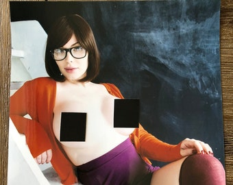 Velma 8 x 10 Signed Topless Print