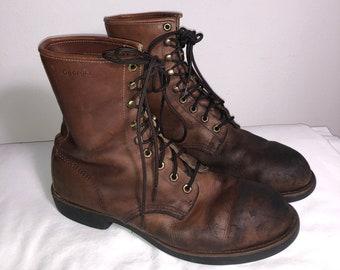 74230877b8d5d Work boots | Etsy