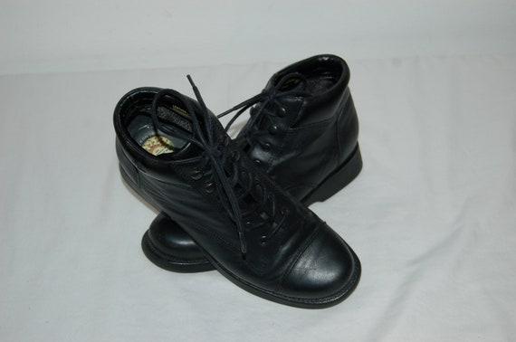 s taille 90 noir 6 Femmes chaussures Vintage bottines 1 terre 2 q8g4xd