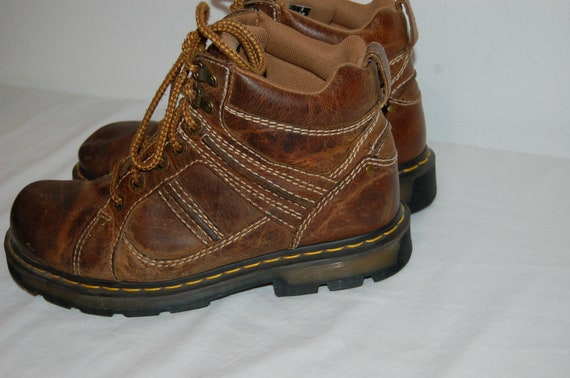 England in Martens US Dr Oxford marron cuir Made 9 Hommes UK Airwair 8 bottes Oqg1wx