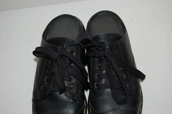 Shoes Jane 6 Women Made on 8 Martens UK Leather Mary Airwair in Black US England Dr Slip qwrOEUPwT