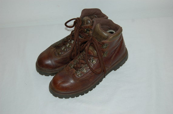 Hiking Size Women American Vintage Boots Brown Eagle 8 Leather R00wrndqZW