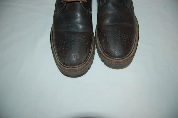 Vintage bottes Homme robe Brown 2 taille 9 1 xxwqfI4n