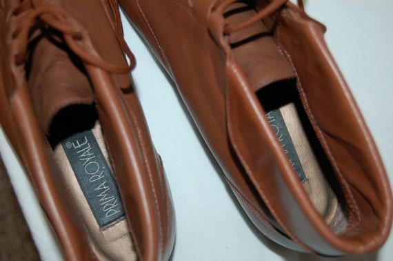 ... 9 Vintage Prima taille en Femmes cheville marron 2 bottines lacets  Royale 1 cuir ZqnxwX6w5 f51e151da73f