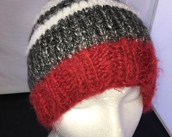 fbe1e4605d6 Red pom pom hat
