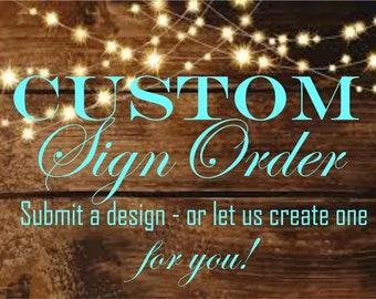 Shannon, custom order - double sided 9x15