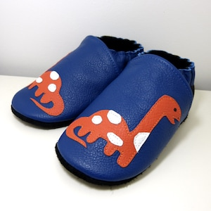 All leather slipperssize 18 to 35childbabydaughtercalf leathersoftshoesshoespandaanimalpeluchepinkblackgrey
