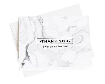 Personalized thank you cards business thank you cards thank etsy personalized thank you cards business thank you notes set of 10 thank you notes thank you note thank you card note cards marble ty1020 colourmoves