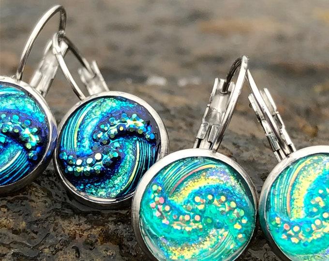 Featured listing image: Ocean Wave Earrings