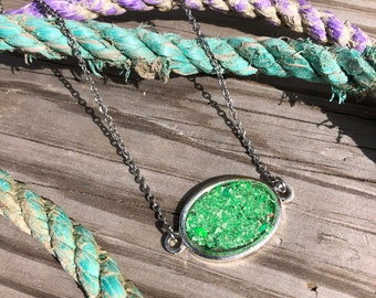 Lobster Buoy Paint Necklace