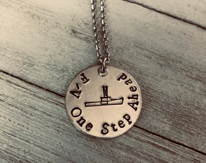 Featured listing image: F/V Necklace-Personalized
