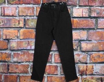 Vintage 80s 90s Black Mum Jeans