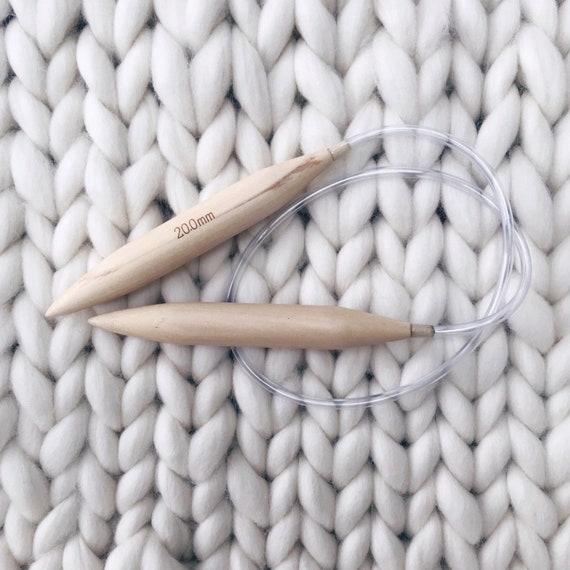 80cm x 20mm Pony Circular Knitting Pin Needle
