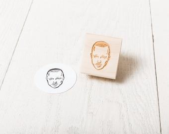 Jesse Pinkman - Rubber Stamp Portrait