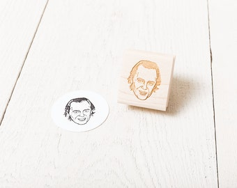 Steve Buscemi - Rubber Stamp Portrait