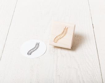 Caterpillar - Rubber Stamp