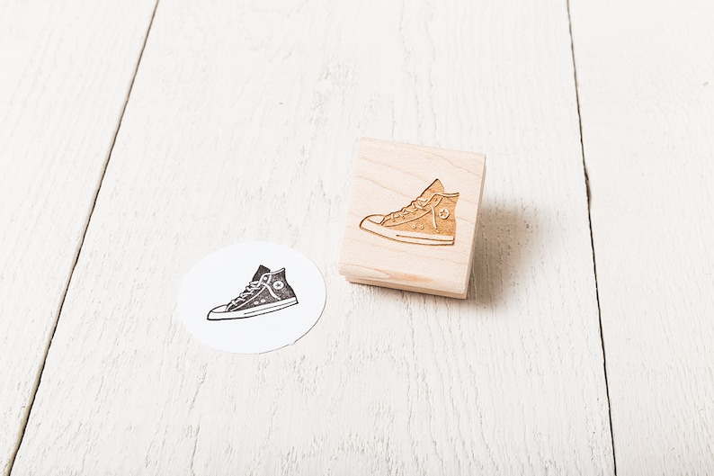 Sneaker  Rubber Stamp image 1