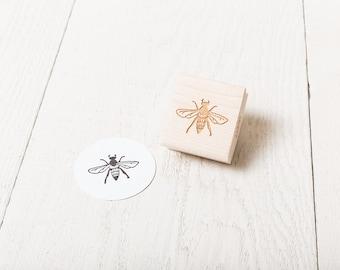 Honey Bee - Rubber Stamp