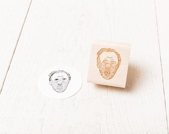 Hannibal Lecter Rubber Stamp (The Silence of the Lambs)
