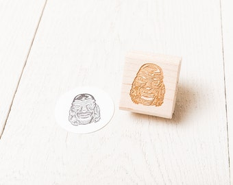 Creature from the Black Lagoon Rubber Stamp