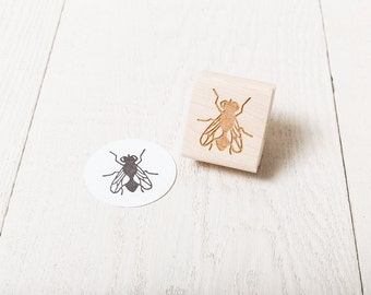 Fly - Rubber Stamp