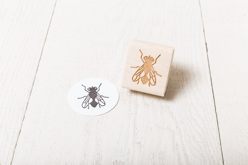 Fly  Rubber Stamp image 1