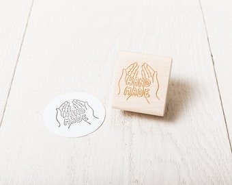 Hand Made - Rubber Stamp