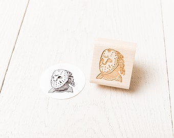 Jason Voorhees Rubber Stamp (Friday the 13th)