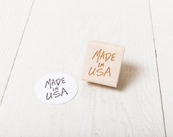 Made in USA - Rubber Stamp
