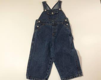 Vintage Baby Levis Overalls, 2T