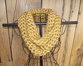 Lovely Mustard Seed Infinity Scarf