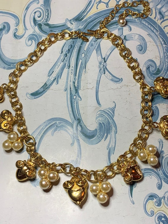 Kenneth Jay Lane necklace gold plated