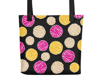 Concha All-Over Latinx Art Tote bag