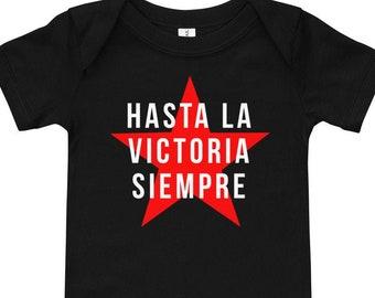 Hasta La Victoria Siempre / Rebel Baby short sleeve one piece