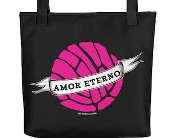 AMOR ETERNO / Concha Pan Dulce / Art Tote bag
