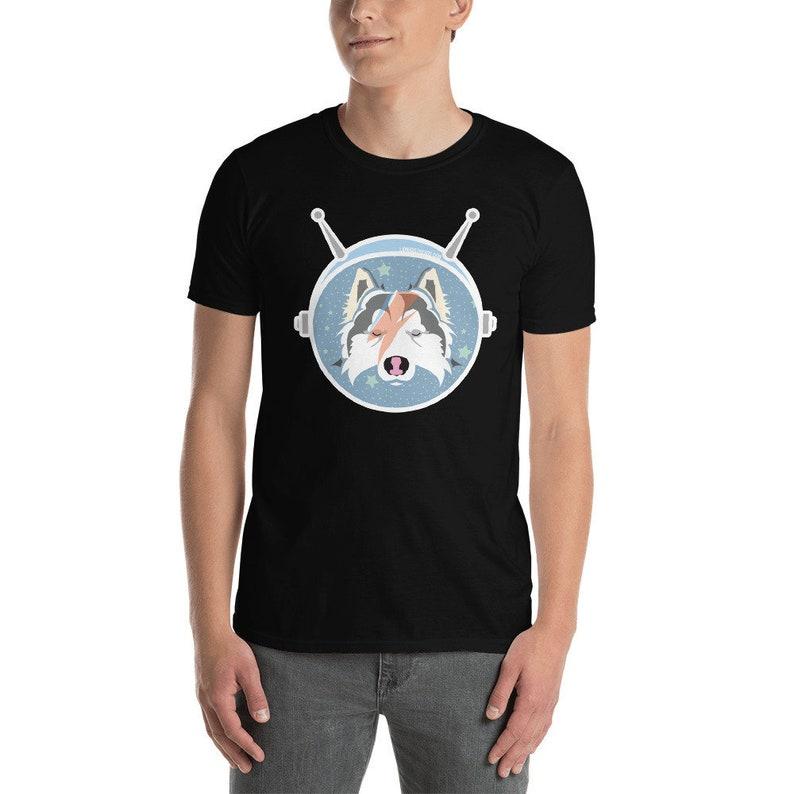 LAIKA the Space Pup / Bowie Homage Aladdin Sane Art / image 0