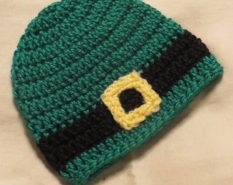 FREE SHIPPING! Leprechaun hat available in newborn through adult sizes