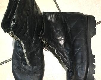 Warm winter booties