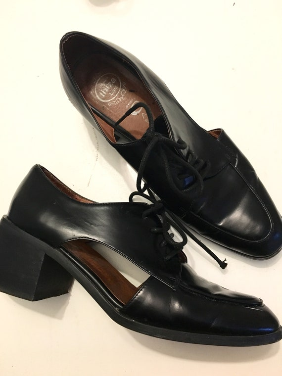 100% leather designer Oxford shoes
