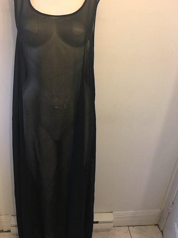 XL chiffon maxi dress