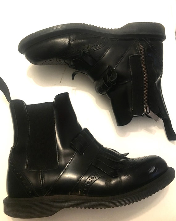 Leather dr martens size 7
